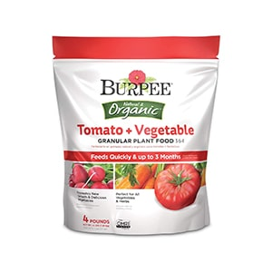 Burpee Organic Fertilizer