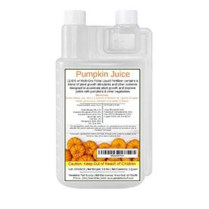 Pumpkin Juice Fertilizer